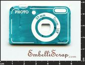 Embellissement Scrap Appareil Photo Compact, POC